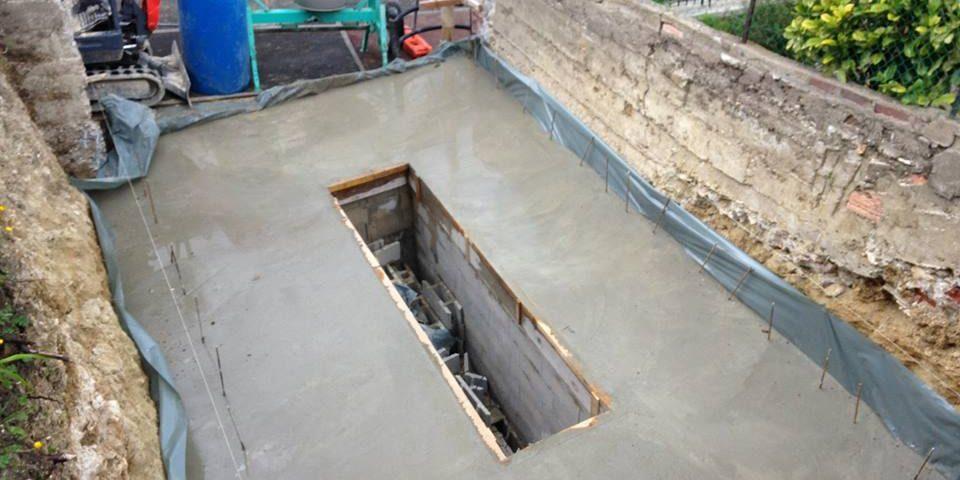 Construction d 39 une garage avec fosse ramos for Faire une fosse de garage