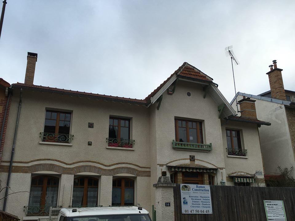 Travaux de isolation et r novation d 39 une toiture ramos for Travaux et renovation